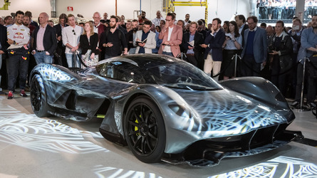 Aston Martin hypercar top speed 250 mph, more details revealed
