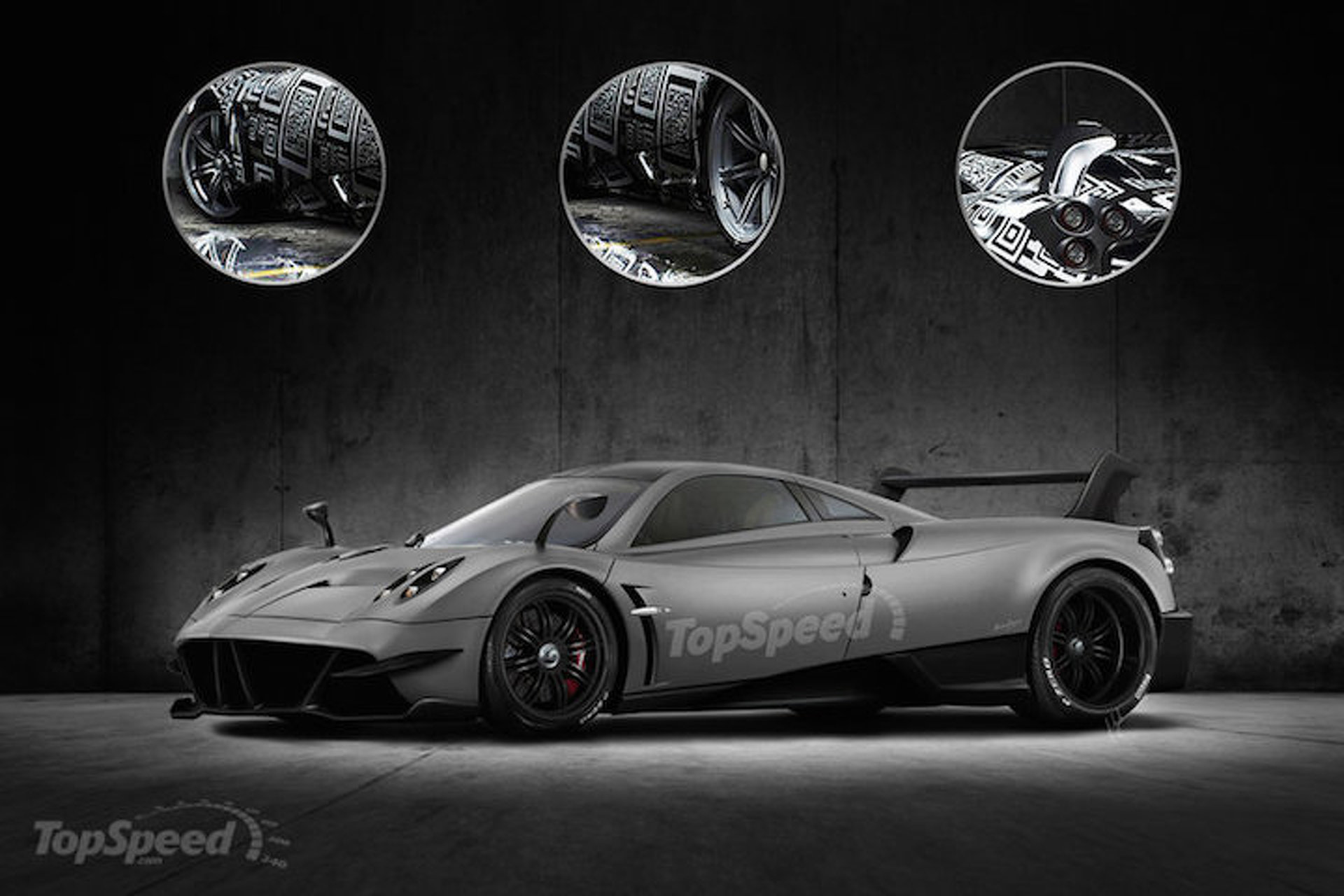 2017 Pagani Huayra BC Rendering Has Us Yearning For More