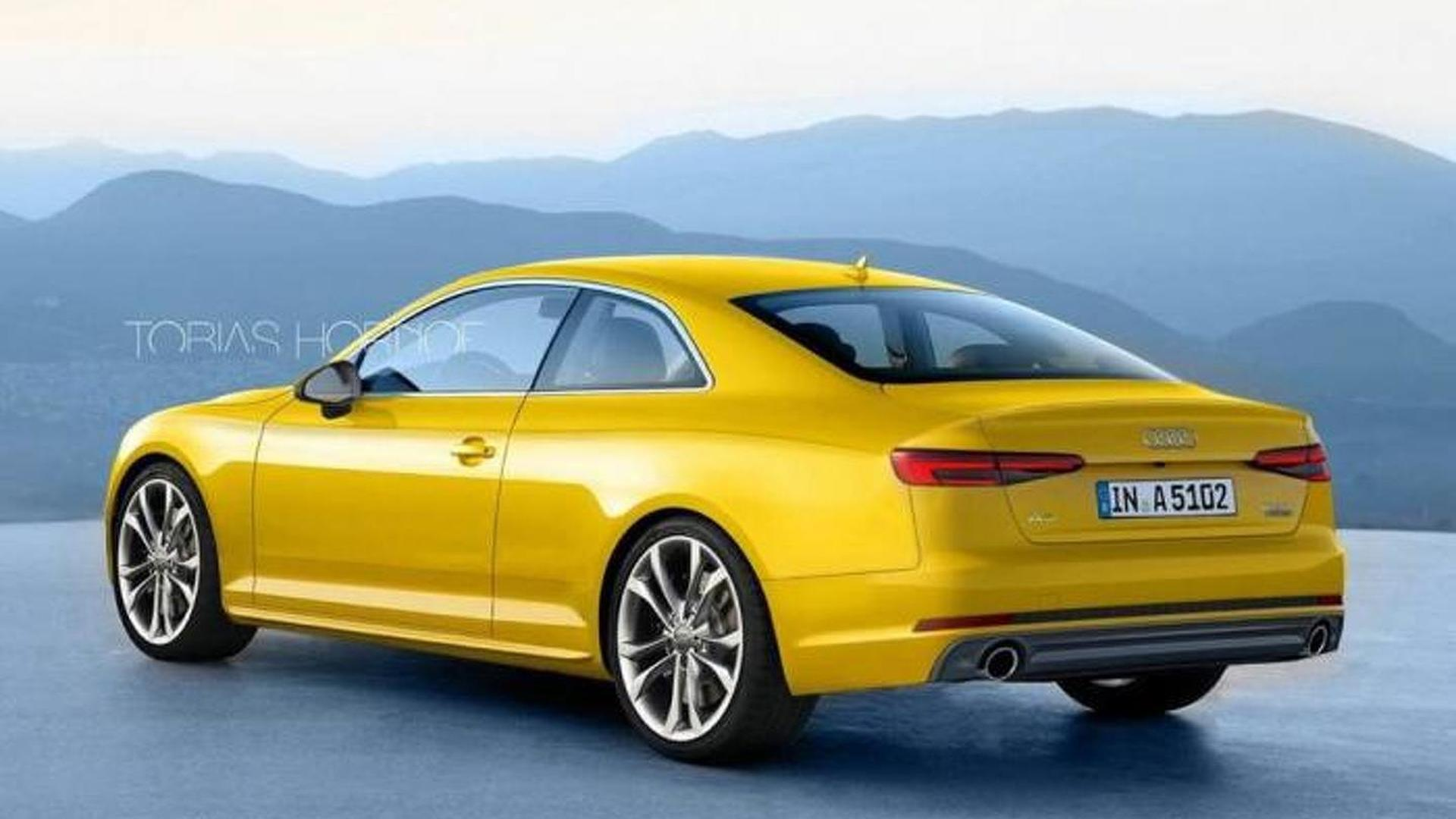Next generation Audi A5 Coupe render shows what to expect