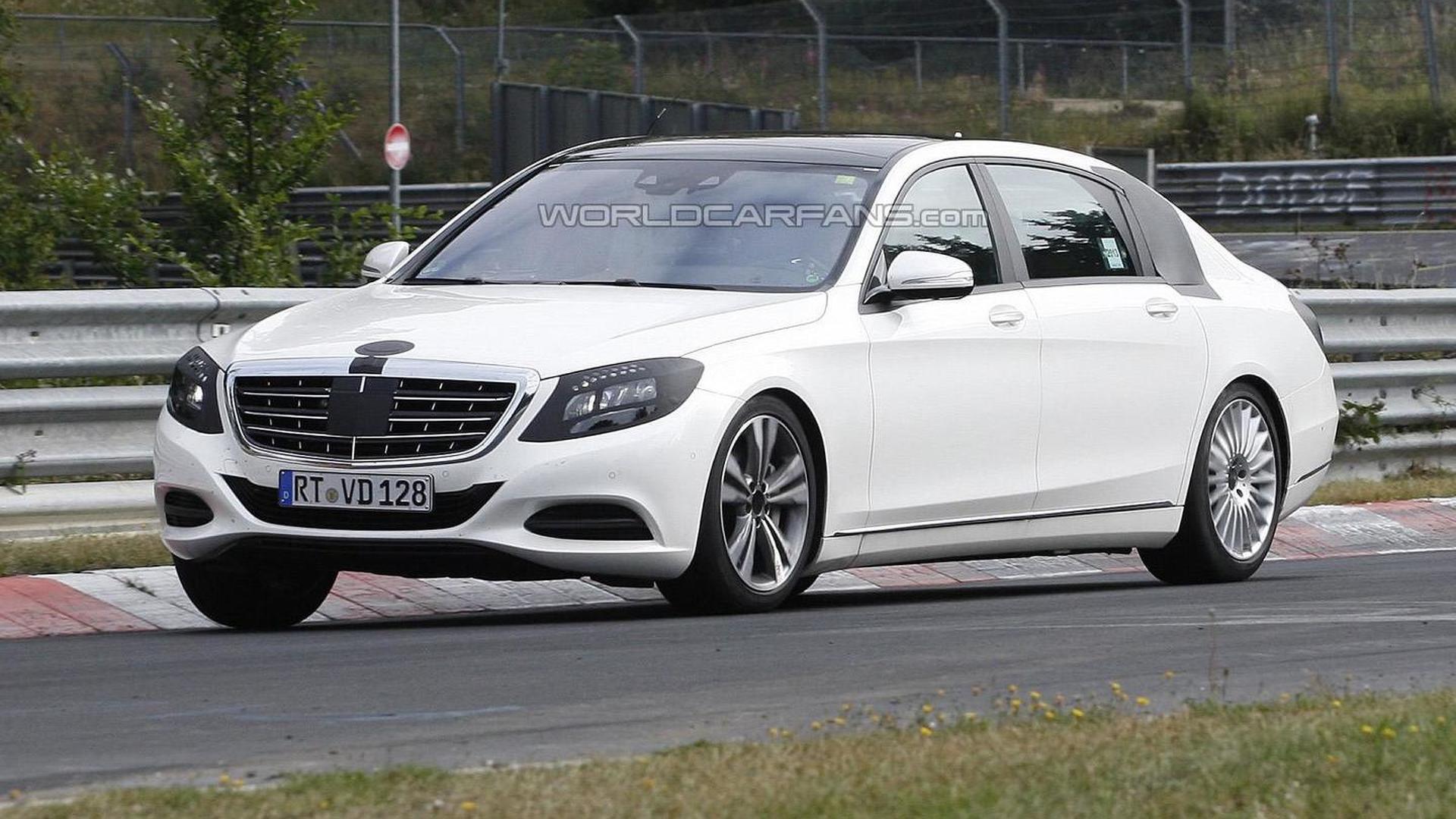 2014 mercedes benz s class extra long wheelbase returns in for Mercedes benz lease return