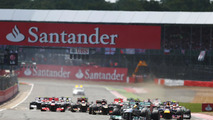 Action packed British Grand Prix ends in close finish