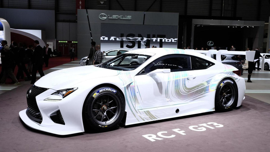 Lexus RC F GT3 concept is ready to race in Geneva