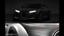 Bugatti Super-Sedan Concept by Dejan Hristov