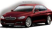 2012 F30 BMW 3-Series rendered