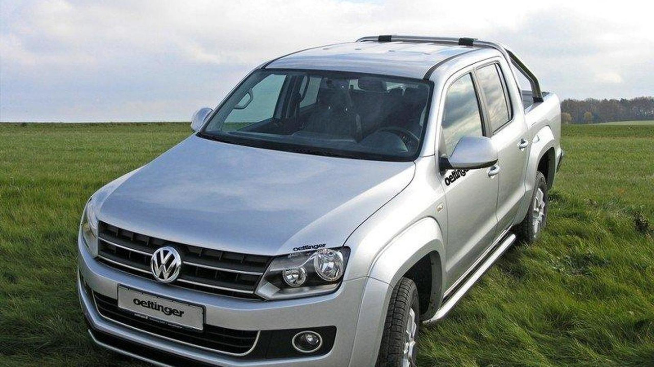 vw amarok tuned by oettinger. Black Bedroom Furniture Sets. Home Design Ideas