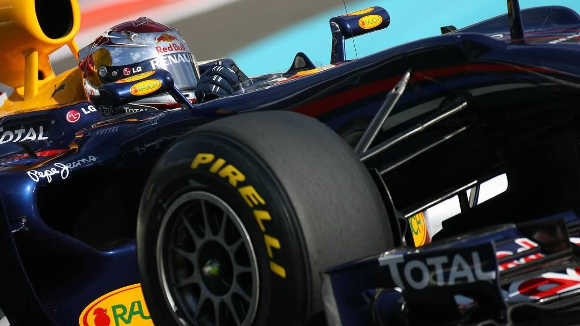 Vettel testing new Pirelli tyres on Friday