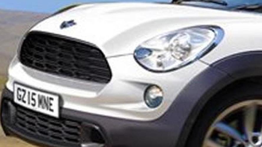 MINI considering 2-door off-road coupe SUV