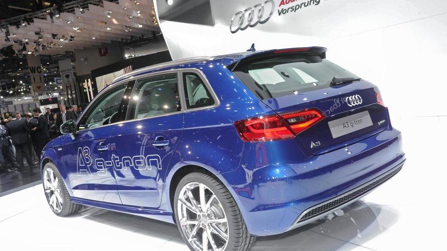 Audi A3 Sportback g-tron debuts at Geneva Motor Show
