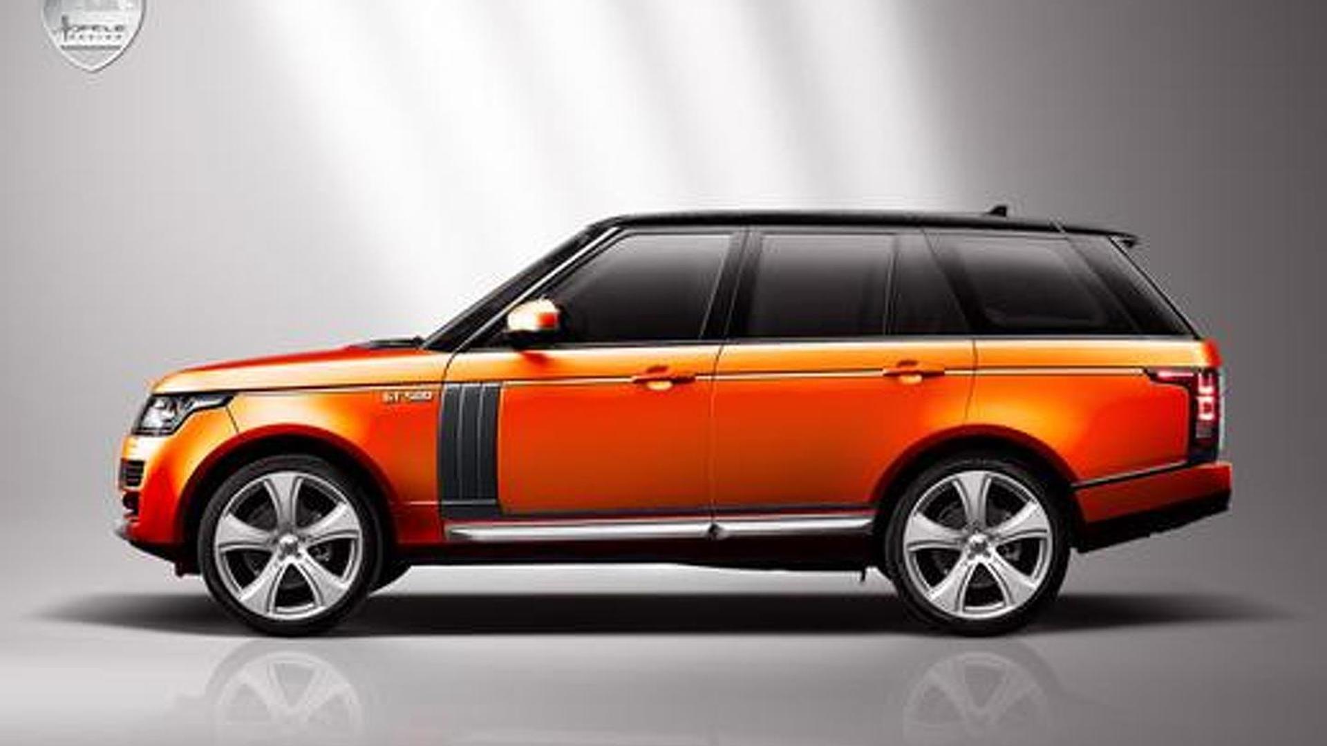Hofele Design previews the Royster GT 500 - based on new Range Rover