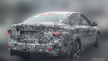 BMW 1-Series Sedan spy photo