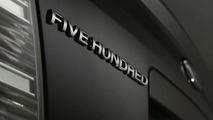 2008 Ford Five Hundred Revealed