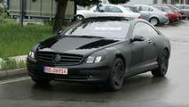 New Mercedes CL-Class Spy Photos