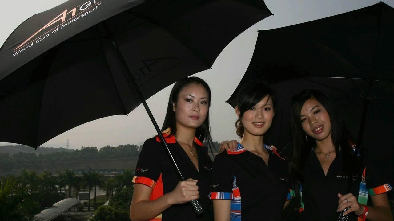 Chinese A1GP Grid Babes / a1gp.com