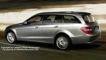 New Mercedes E-Class Variant artist rendering