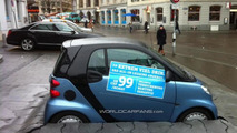 Smart Fortwo marketing installation, 1300, 20.01.2012