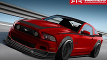 Ford Mustang Built by Mothers, Autosport Dynamics and RTR for SEMA 24.10.2012