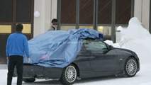 BMW 3 Series Convertible spy photo
