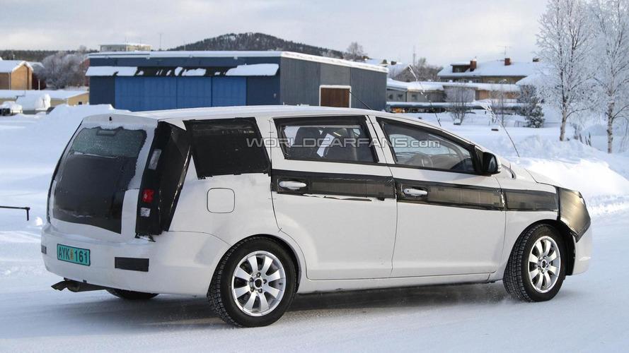 2012 Proton Exora facelift spied