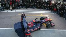 Scuderia Toro Rosso STR5 car launch, Jaime Alguersuari (ESP), Sebastien Buemi (SUI), Valencia, Spain, 01.02.2010