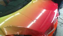 Rainbow-wrapped Lamborghini Gallardo in Malaysia