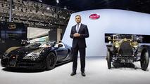 Bugatti Veyron Grand Sport Vitesse Black Bess brings a golden glow to Beijing