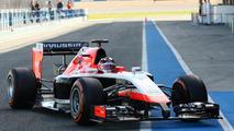 Max Chilton Marussia MR03  Formula One Testing Jerez Spain