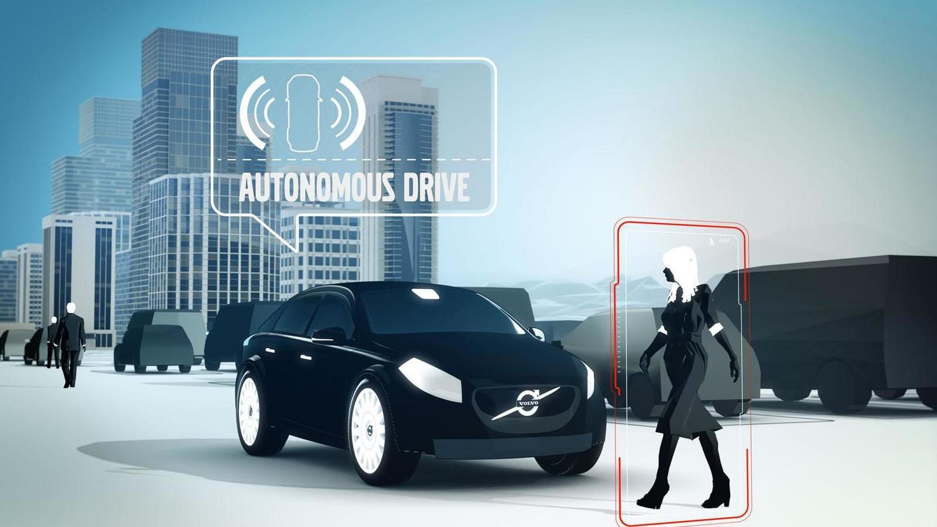 Volvo V40 Autonomous Parking Concept unveiled [videos]