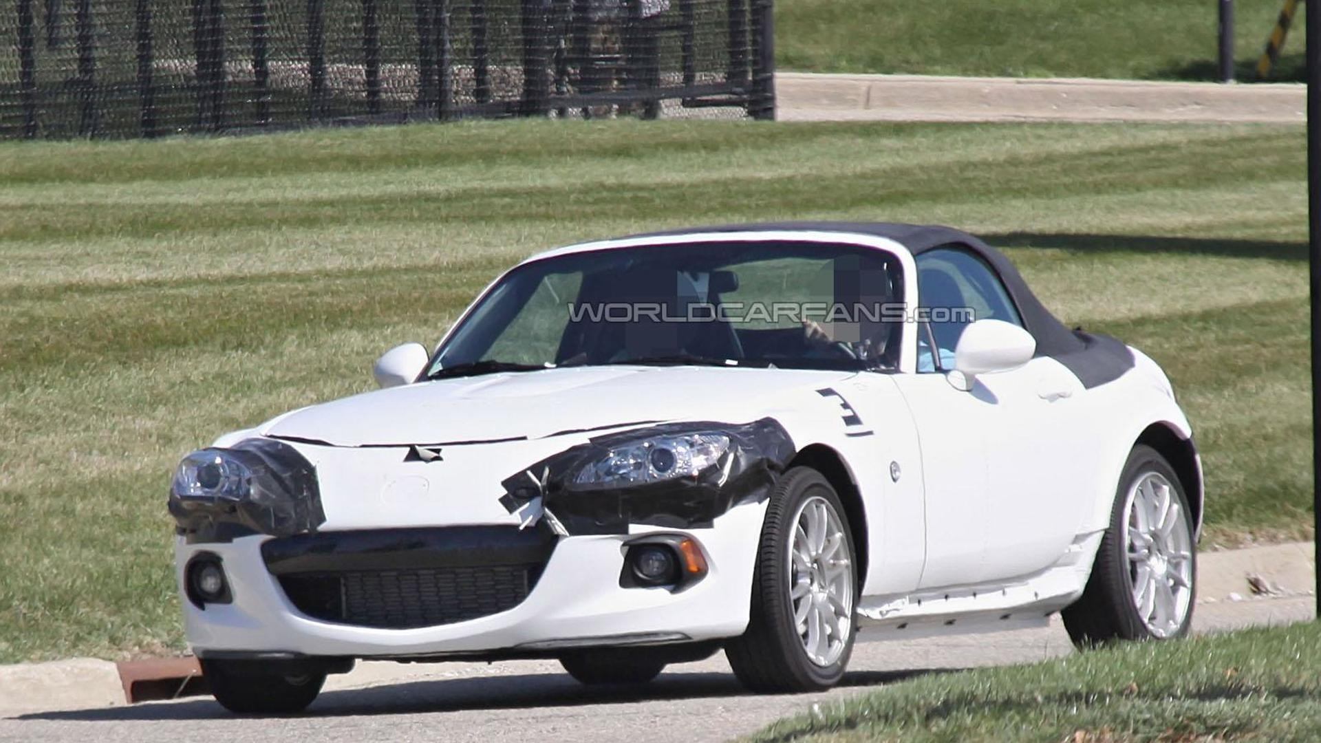 2015 Mazda MX-5 to hearken back to the original model, feature an oval grille - report