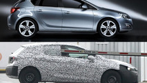 2016 Opel Astra spied for the first time