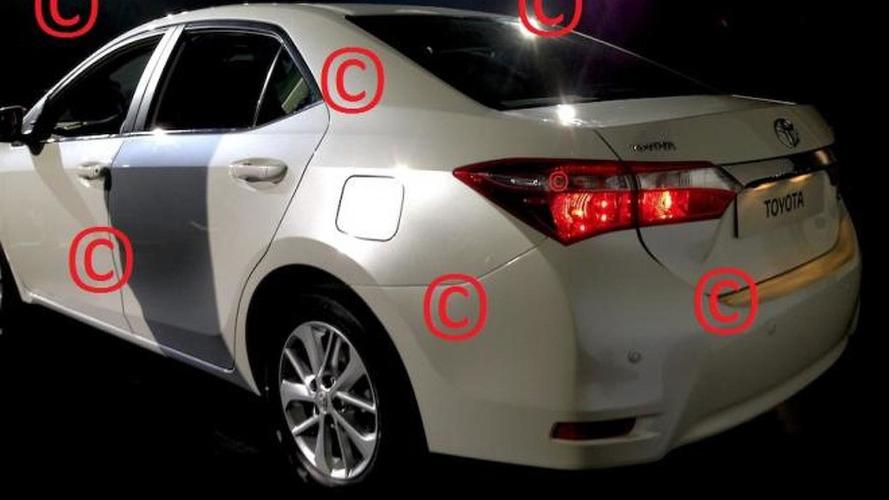 2014 Toyota Corolla leaked?