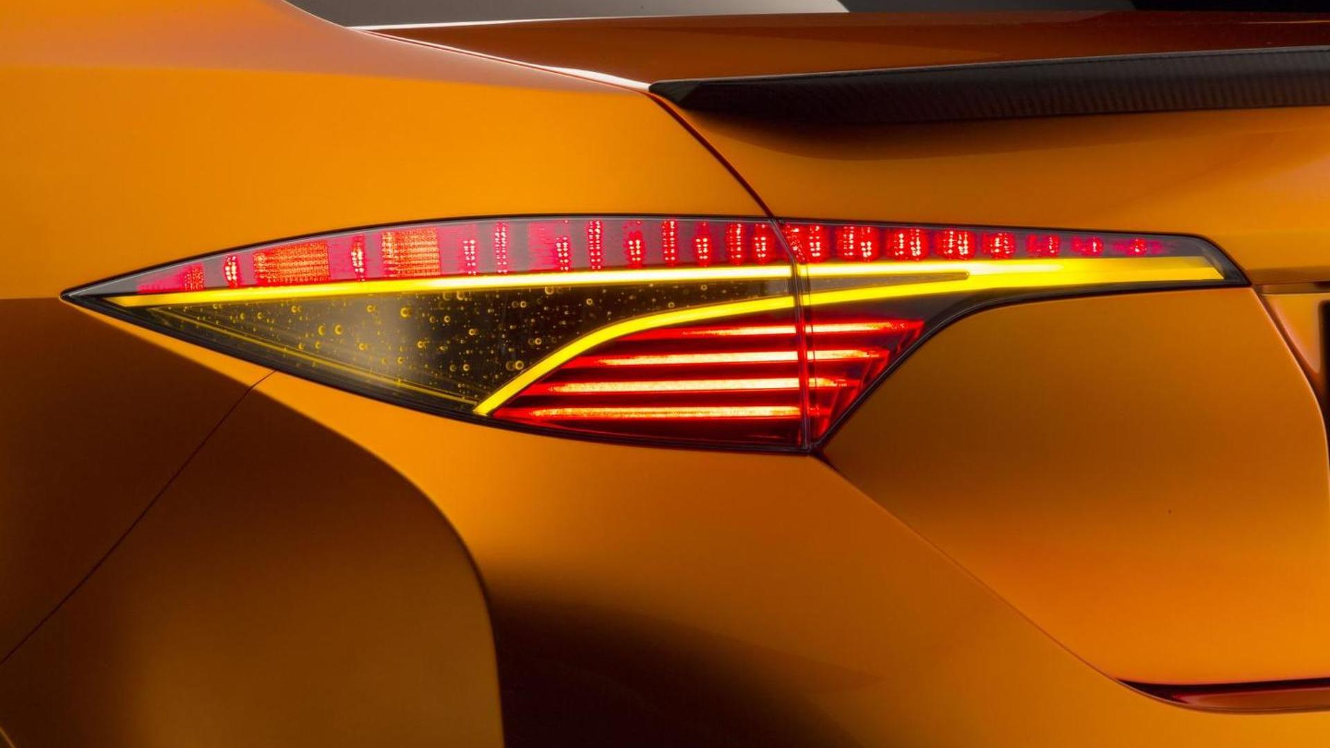 Toyota Corolla Furia concept officially revealed at NAIAS [videos]