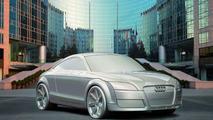 Audi TT statue
