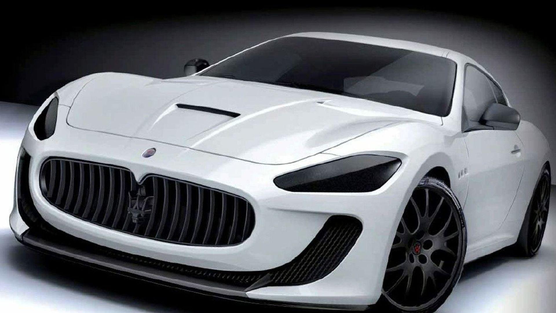 Maserati GranTurismo MC Corse Concept Revealed