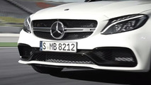 Mercedes-AMG C63 S Coupe screenshot from teaser video