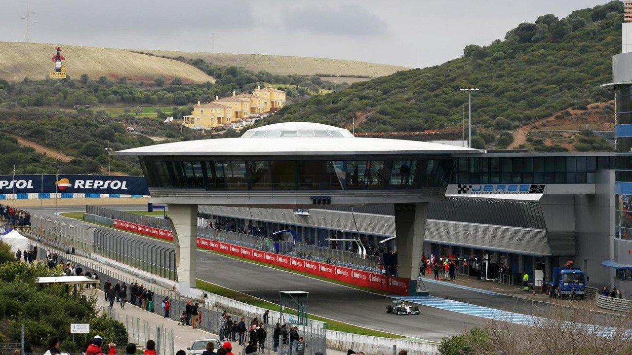 Formula One Testing, Day Four, Jerez, Spain / XPB