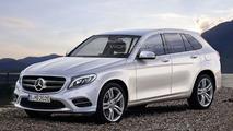 2016 Mercedes GLC rendering