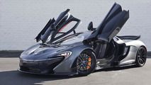 McLaren P1 with Flintgrau Metallic paint looks stunning (64 photos)