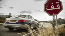 Mercedes-Benz E 300 BlueTEC HYBRID traveled from Africa to UK