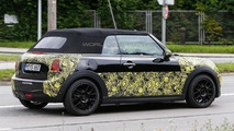 2015 MINI Cooper Cabrio spied with the roof up