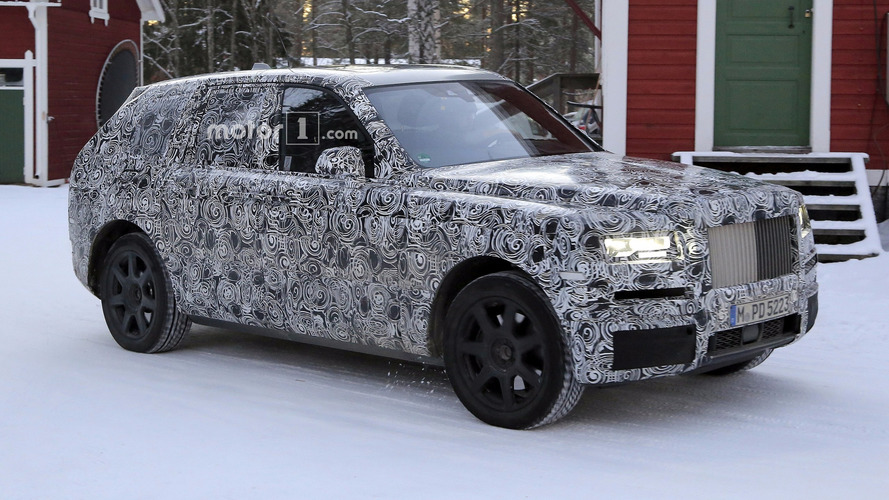 Rolls-Royce Cullinan spied looking large and in charge