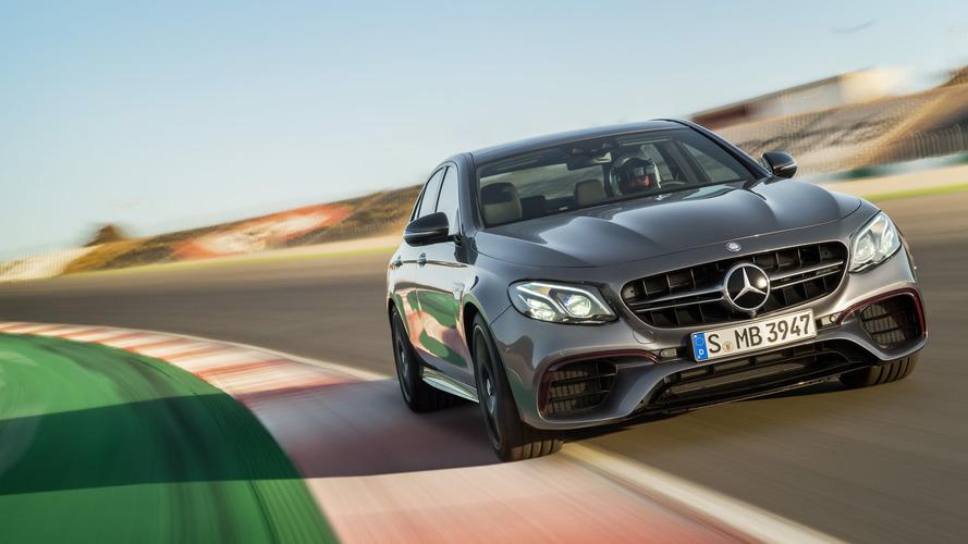2018 Mercedes-AMG E63 Sedan: 603 hp and Drift Mode