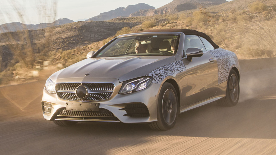 2018 Mercedes E-Class Cabriolet First Ride: Making of a topless beauty