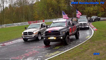 Ram trucks record parade