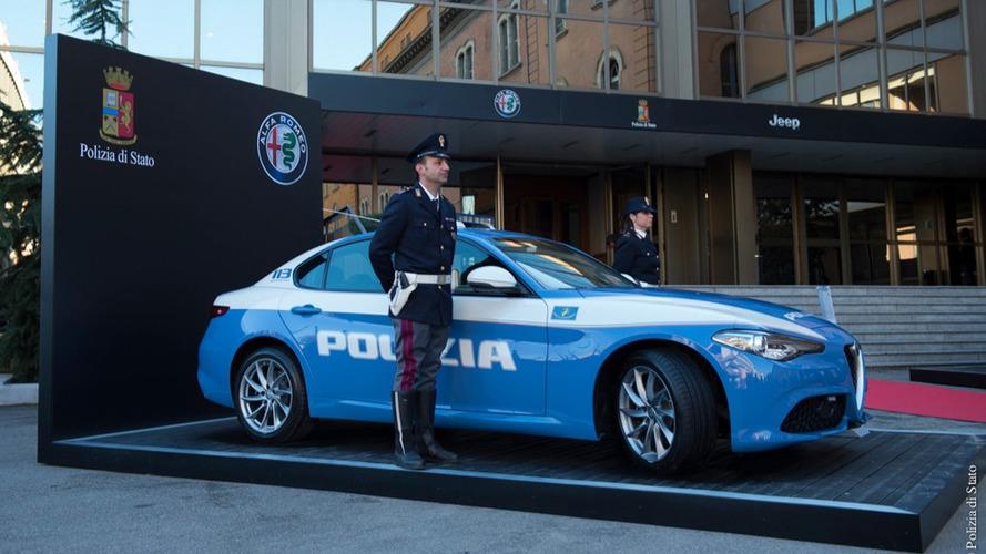 La police italienne s'offre deux Alfa Romeo et une Jeep
