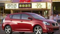 Pricing Announced for 2009 Pontiac Vibe