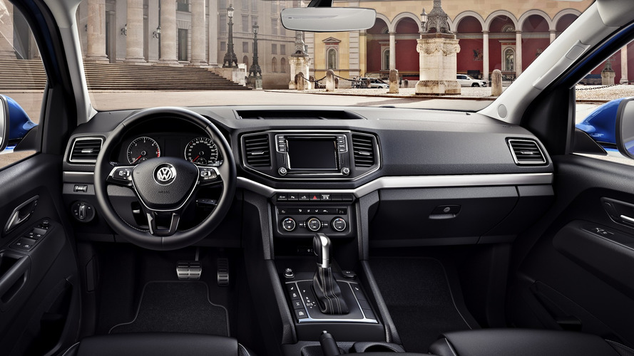 VW Amarok facelift shows its car-like interior
