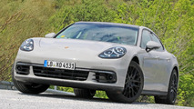 2017 Porsche Panamera spotted with almost no camouflage