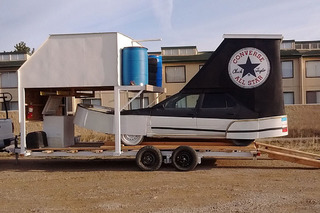 Yes, You Can Buy a Giant Converse All Star Shoe Car
