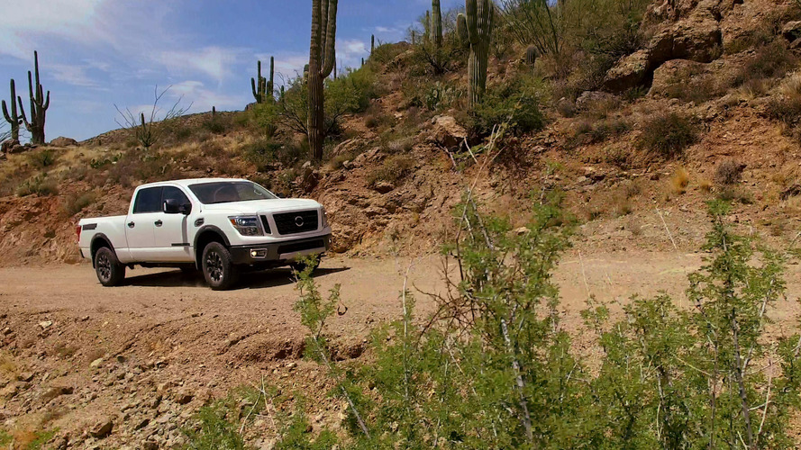 Nissan shows the Titan XD testing in Arizona [video]