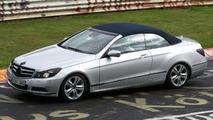 2011 Mercedes-Benz E-Class Cabrio spy photo